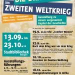 Plakat Ausstellung Dritte Welt im Zweiten Weltkrieg Erlangen